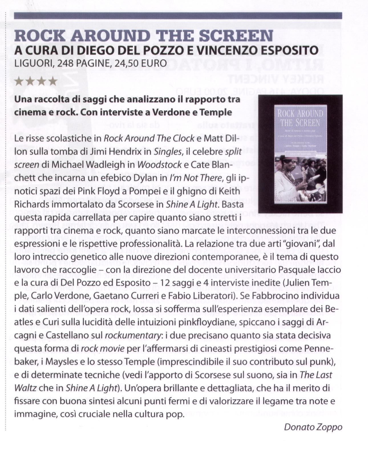 la recensione di Donato Zoppo sul numero 170 di JAM attualmente in edicola.
