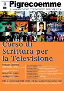 Il corso di scrittura per la televisione è partito il 21 gennaio