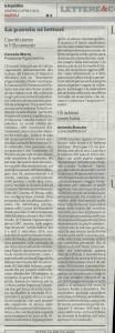 la lettera su la Repubblica napoli del 14-04-2013