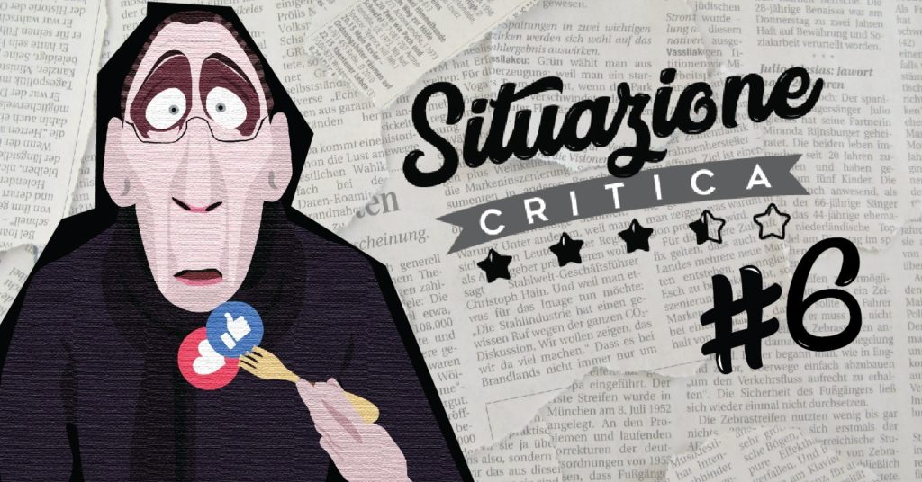 Situazione Critica #6 - La webcritica e altre storie