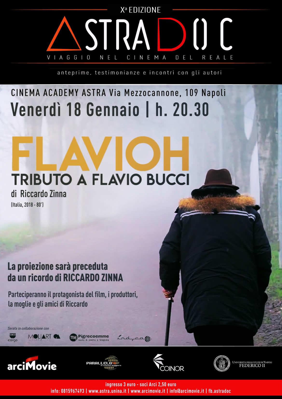FLAVIOH, TRIBUTO A FLAVIO BUCCI - Un film di Riccardo Zinna