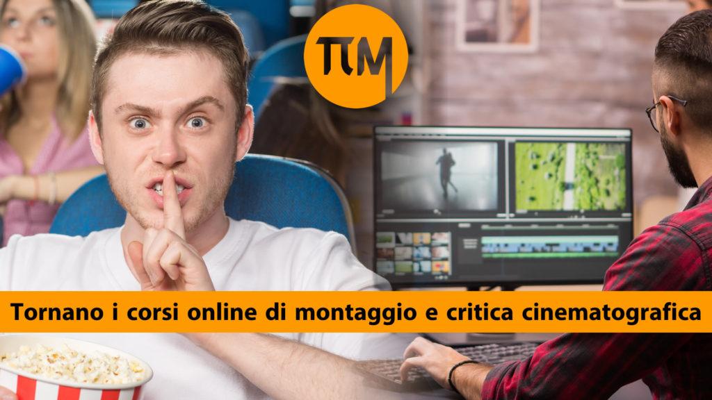 tornano i corsi online di cinema