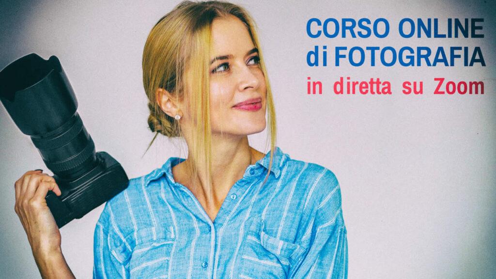 corso online fotografia