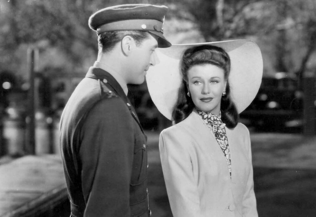 Ray Milland and Ginger Rogers in Frutto proibito