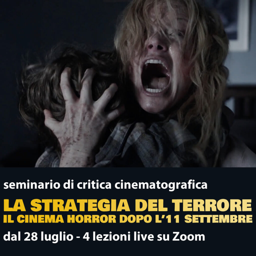seminario critica cinematografica sul cinema horror post 9/11