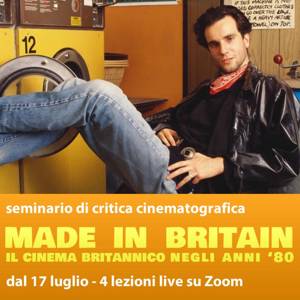 seminario sul cinema bitannico anni ottanta