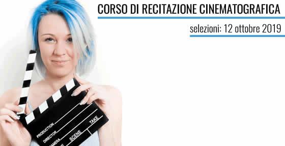 Corso di recitazione cinematografica a Napoli