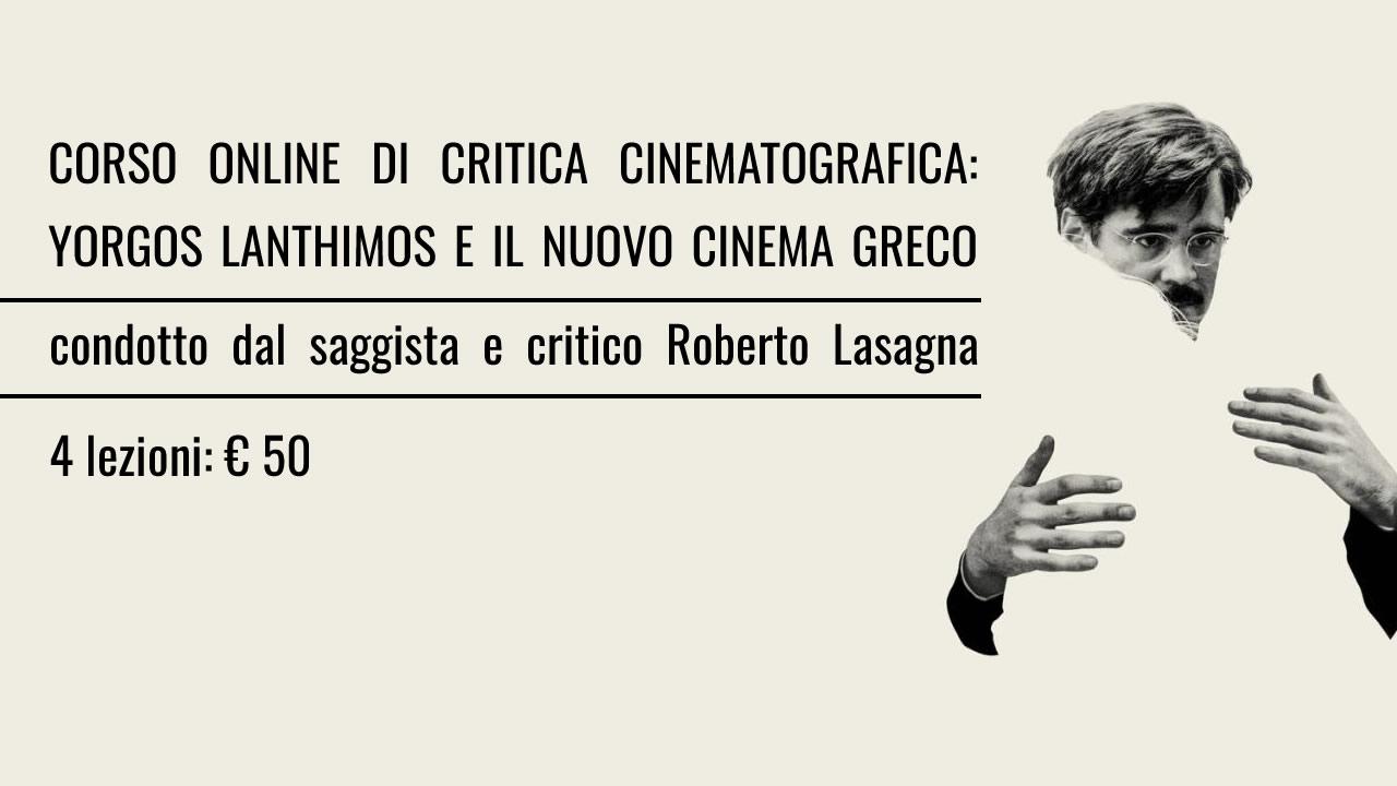 seminario online sul nuovo cinema greco condotto da roberto lasagna