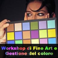 Workshop di Fine Art e Gestione del Colore