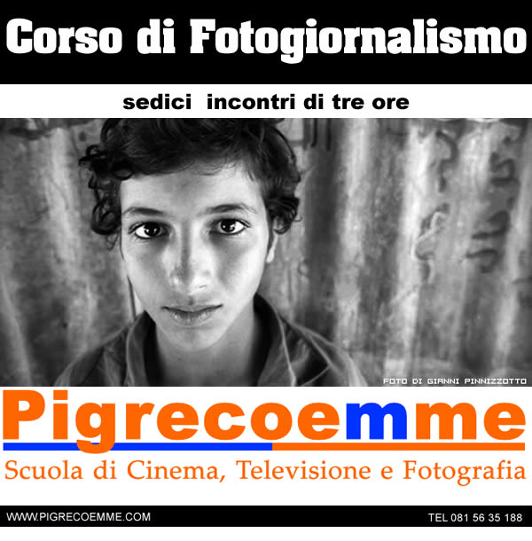 Corso di Fotogiornalismo a Napoli